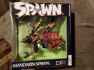 Mandarin Spawn 2, 12 inch deluxe action figure. McFarlanes toys. for Sale in Youngtown, AZ
