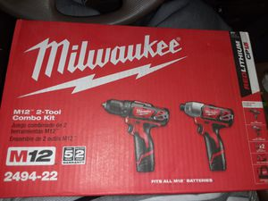 M12 drill/ driver combo kit for Sale in Arlington, TX