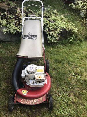 "21"" snapper hi vac gas push lawn mower w/bag for Sale in Kirkland, WA"