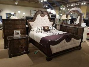 👉$39 Down Payment 👈👍 Isabel Brown Panel Bedroom Set for Sale in Jessup, MD