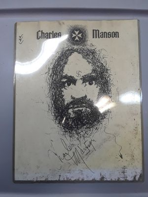 Charles Manson copy of original unseen artwork for Sale in Long Beach, CA