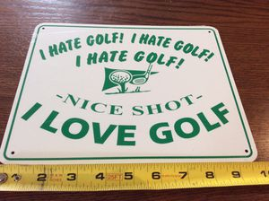 """Brand new all metal fun sign 8"""" x 10"""" for Sale in Jupiter, FL"""