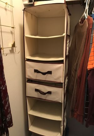 StorageWorks 6-Shelf Hanging Closet Organizer, Foldable Hanging Dresser for Sale in Issaquah, WA