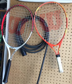 Wilson tennis racket for kid for Sale in West Covina, CA