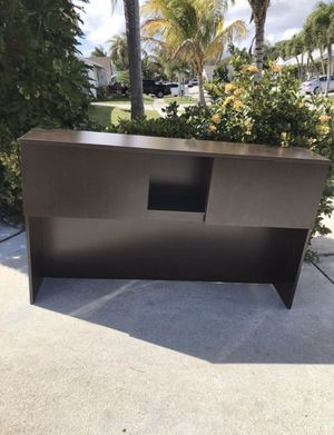 "OFFICE DESKTOP - STORAGE- CABINETS- STRONG AND GOOD CONDITION, L:71"", W: 14.75"", H: 43"" for Sale in Lake Worth, FL"