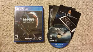 Mass Effect Andromeda for PlayStation 4 PS4 for Sale in GARDENA, CA