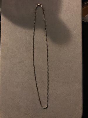 Silver chain for Sale in Turlock, CA