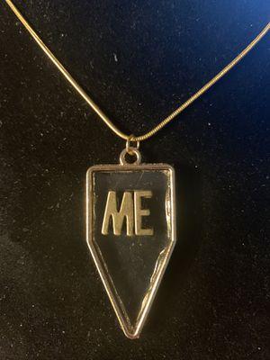 Pendant (ME) Necklace(Please Read Description) for Sale in Seattle, WA