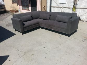 NEW 7X9FT ANNAPOLIS GRANITE FABRIC SECTIONAL COUCHES for Sale in Santa Ana,  CA