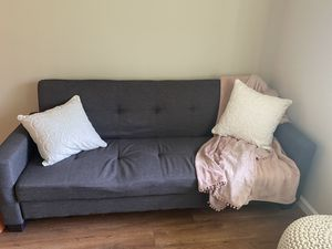 Gray Couch with storage for Sale in San Jose, CA