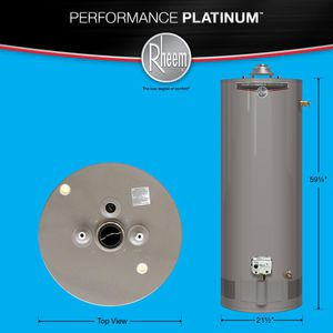 Rheem Performance 40 & 50 Gallon Hot Water Tank for Sale in Detroit, MI
