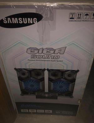 Samsung Giga Sound Stereo for Sale in Traverse City, MI