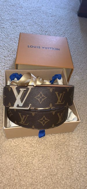 Louis Vuitton monogram belt for Sale in Deer Park, NY