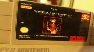 Original Terminator on Super Nintendo for Sale in Woodstock, GA