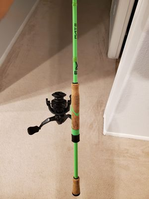 One Three 13 Fishing Fate Black / Creed Spinning combo for Sale in Friendswood, TX