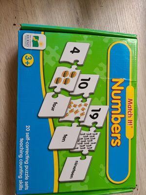 Number games ,learning toys for kids for Sale in Pembroke Park, FL