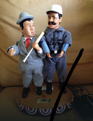 Abbott and Costello Who's On First Moving and Talking Figurines for Sale for sale  Brownsville, PA