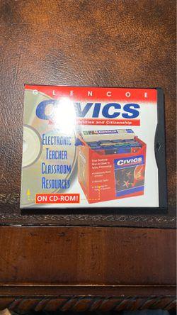 Glencoe civics classroom resources for Sale in Anderson,  SC
