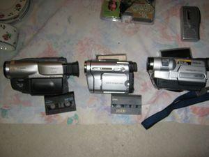 Sony hi-8 two cameras Canon camera for Sale in North Ridgeville, OH