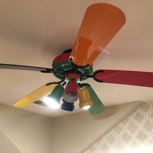 Colorful fan for grabs! for Sale in Arlington, VA