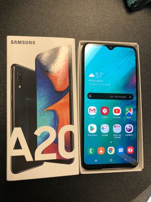 Samsung Galaxy A20 32GB Black for Metro PCS for Sale in Woodburn, OR