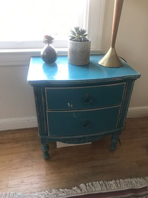 Shabby chic blue nightstand for Sale in San Francisco, CA