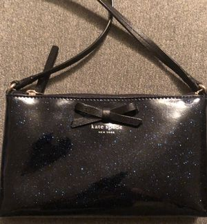 Kate Spade blue sparkly bag with bow for Sale in Vista, CA