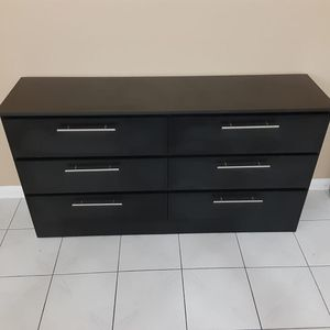 Black Dresser New ~ Comoda ~ Gavetero Negro Nuevo (BLACK or WHITE) for Sale in Miami, FL
