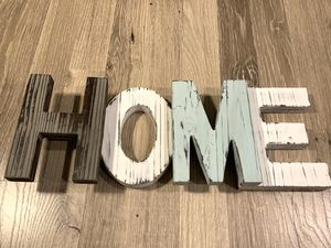 Wooden HOME Farmhouse Decor Sign for Sale in Lacey, WA