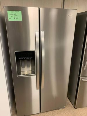 Brand New Whirlpool Side By Side Refrigerator for Sale in Moyock, NC