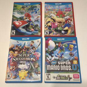 Nintendo Super Mario Wii U Games for Sale in Fort Worth, TX