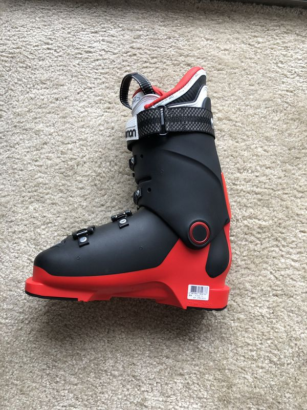 Salomon X Max 100 Ski Boots MEN 25.5 Red/Black