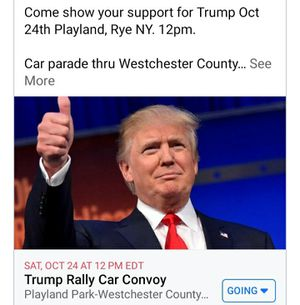 Trump Rally Playland - Rye, NY Oct 24th 12pm for Sale in Port Chester, NY