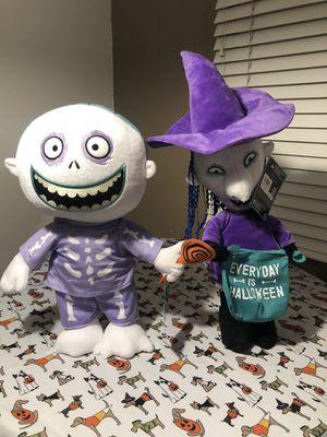 Barrel & Shock Nightmare before Christmas Halloween Greeter for Sale in Henderson, NV