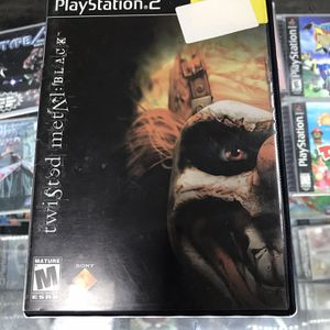 Twisted Metal Blk Ps2 $25 Gamehogs 11am-7pm for Sale in Commerce, CA