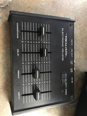 Realistic electronic reverb for Sale in Port St. Lucie, FL