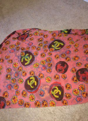 Chanel large scarf shawl pareo for Sale in Hillsboro, OR