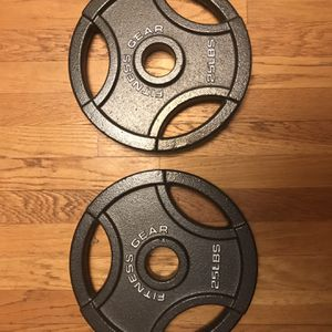 25 Pound Plates for Sale in Franklin, MA