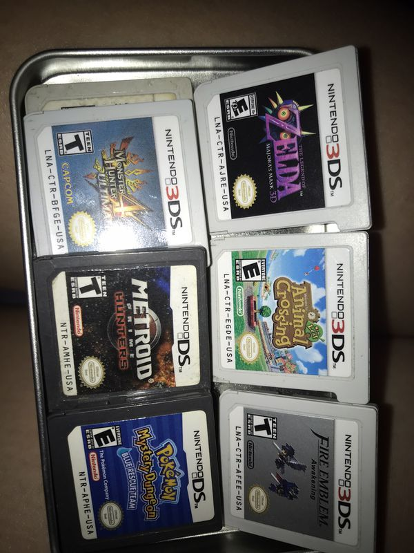Nintendo 3DS or DS games