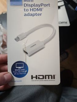 Mini Display Port To Hdmi Adapter for Sale in Denver,  CO