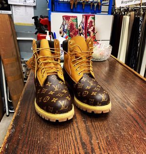 Louis Vuitton timberlands for Sale in Denver, CO