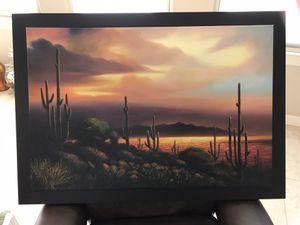 Desert Oil Painting for Sale in Fountain Hills, AZ