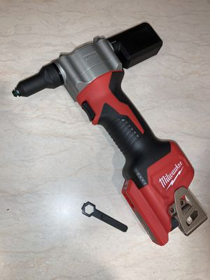 """Milwaukee m12 Rivet tool. Tool only $180 """"""""""""price is firm """""""""""" for Sale in Bellevue, WA"""
