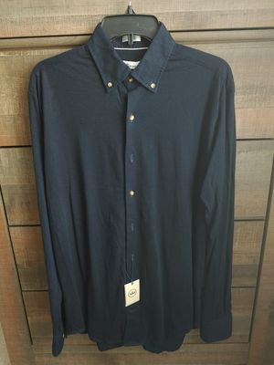 Peter Miller Crown Men's Oxford Formal Casual Dress Long Sleeved Shirt for Sale in Kent, WA