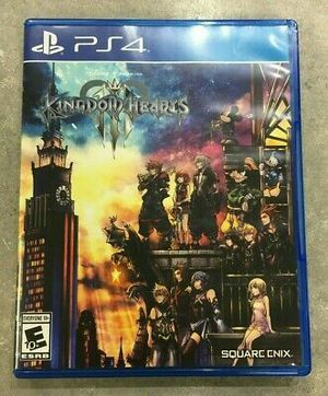 Kingdom Hearts 3 PS4 Like New for Sale in Santee, CA