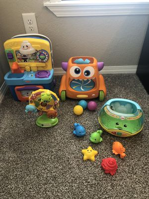 Fisher Price V Tech Sounds n Play Toys for Baby/Toddler Paypal accepted for hold or cash for Sale in Coppell, TX