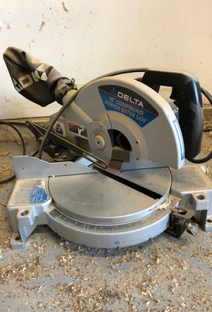 """Delta 10"""" compound motor works needs clutch pin from 1998 for Sale in Chino Hills, CA"""