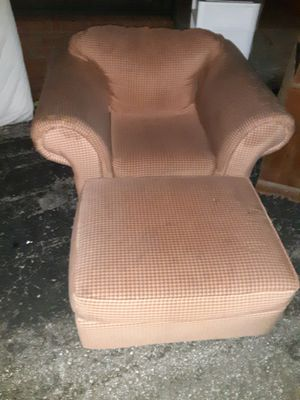 Chair and ottoman for Sale in La Vergne, TN