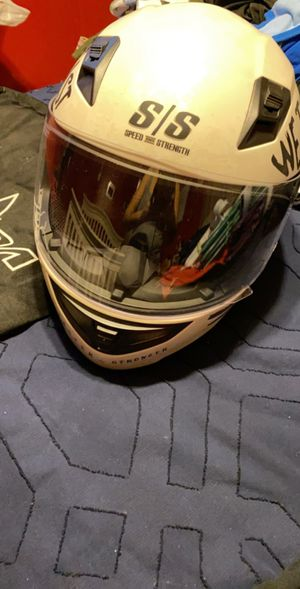 Motorcycle helmet and gloves (Small) for Sale in Seagoville, TX