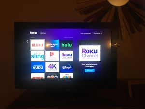 Acer television, roku stick & remote for Sale in Charlotte, NC